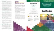 Download our Mission Brochure - Community Health Center