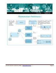 Propriedades Periódicas - Portal de Estudos em Química
