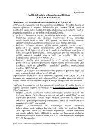 Ziņojuma pielikums Nr.4 - ES fondi