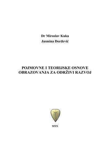 pojmovne i teorijske osnove obrazovanja za održivi razvoj - Kuka ...
