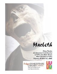 Macbeth Study Guide - Folger Shakespeare Library
