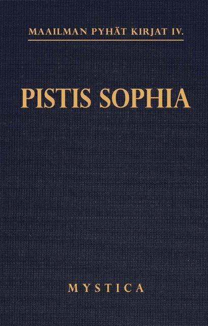 Pistis sophia - Pekka Ervast