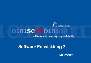 Was ist Software? - Software Engineering: Dependability