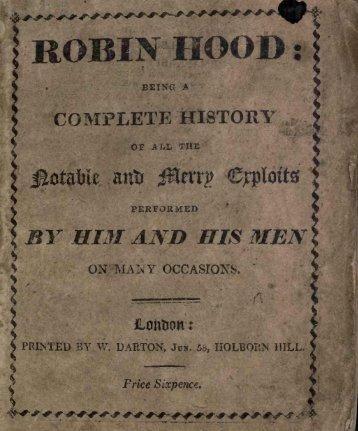 ROBIN HOOD :1 - Tim And Angi