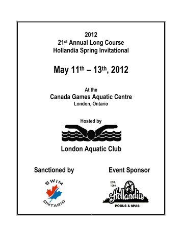 Warm Up Schedule Dynamo Swim Team