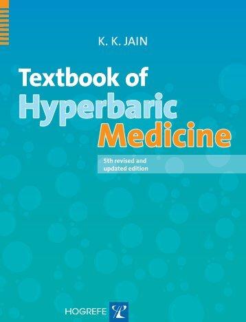 Textbook of Hyperbaric Medicine - HyperMED
