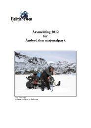 Årsrapport Ånderdalen 2012.pdf - Blogg - Statskog