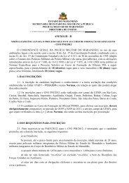 ANEXO III-B Normas Específicas Para o Processo Seletivo ... - Uema