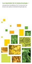 Les bienfaits de la biotechnologie : - SoyConnection.com