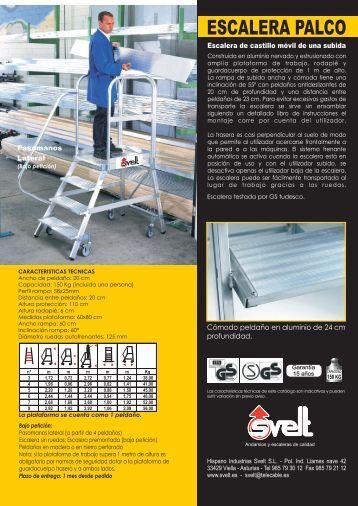 escaleras puente y palco - Construnario.com