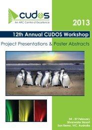 Program Handbook (18 MB) - Cudos