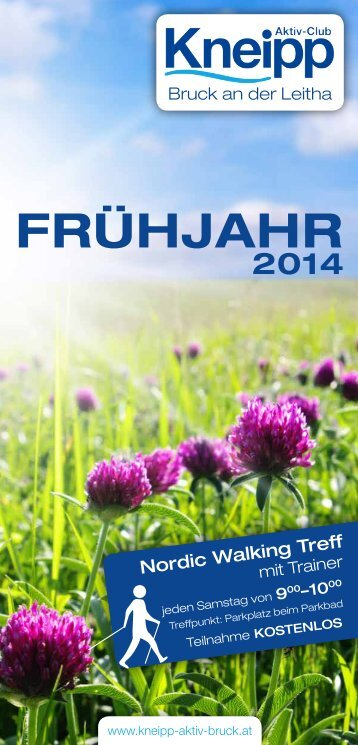 Download Programm - Kneipp Aktiv Club Bruck an der Leitha - Tai ...