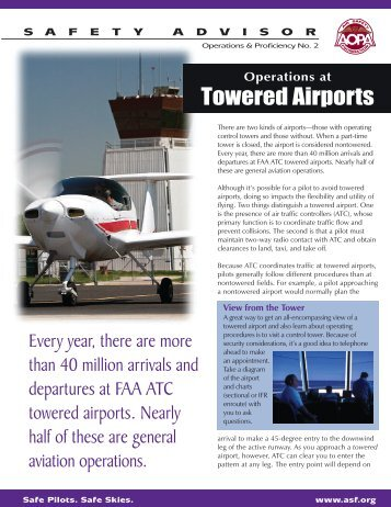 Operations at Towered Airports