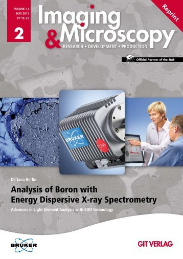 Analysis of Boron with Energy Dispersive X-ray Spectrometry - Bruker