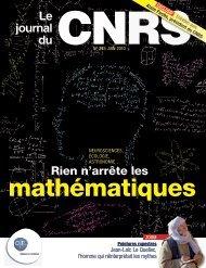 Journal du CNRS - Université de Bretagne Occidentale
