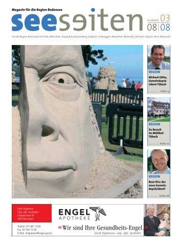 Magazin für die Region Bodensee REGION REGION ... - Seeseiten