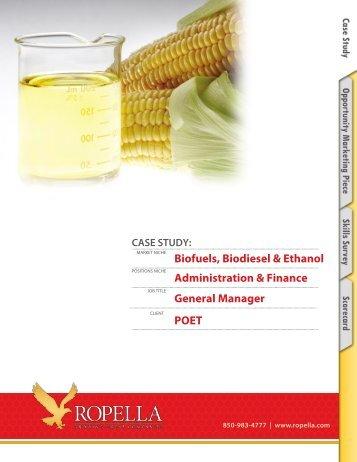 Biodiesel - Term Paper