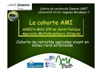 La cohorte AMI - Isped