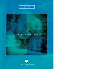 2004 Annual Report - Austin Children's Shelter