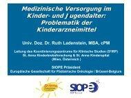Präsentation Ruth Ladenstein - Österreichische LIGA für Kinder-und ...
