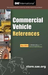 Commercial Vehicle References Commercial Vehicle ... - SAE