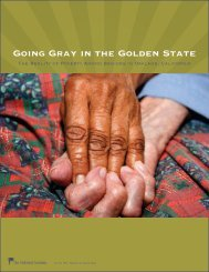 Going Grey in the Golden State - Oakland Institute