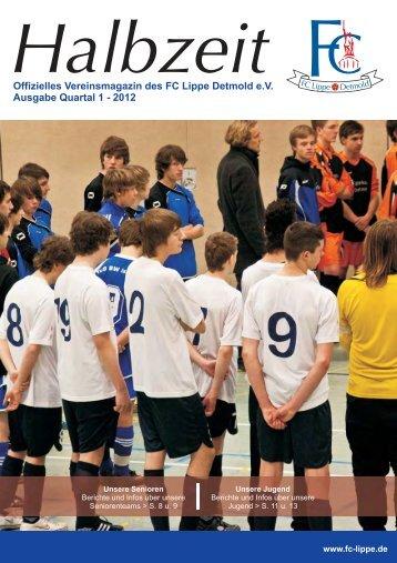 Quartal 1/2012 - FC Lippe Detmold