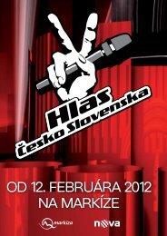 Od 12. februára 2012 na Markíze - iHNed