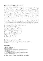 Il Segnalibro - Corsi di formazione editoriale - Centro Studi e ...