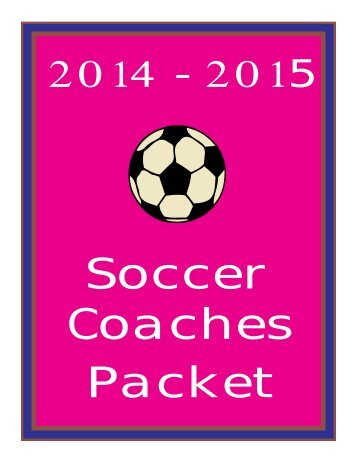 Soccer Coaches Packet - wvssac
