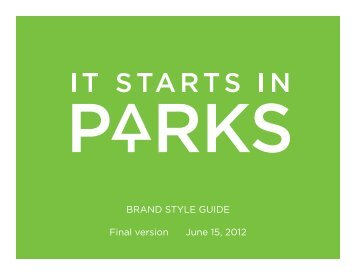 Style Guide - Florida Recreation and Park Association