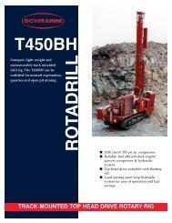T450BH Literature PDF - Schramm Inc.