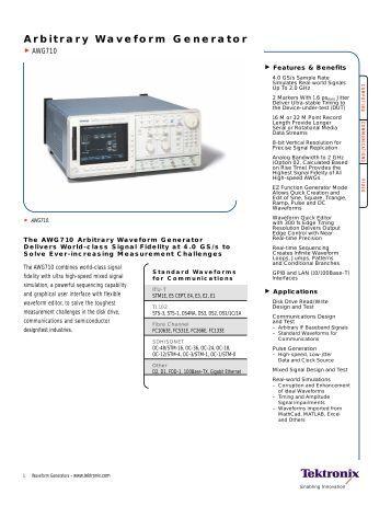 Arbitrary Waveform Generator - TEVET