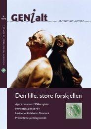 Last ned GENialt 2/2005 (pdf). - Bioteknologinemnda