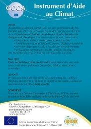 Instrument d'Aide au Climat - Africa Adapt