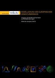 modellierung des europäischen windsturmrisikos - Willis Research ...