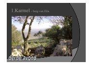 Presentatie Karmel