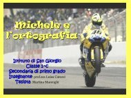 Michele e l'ortografia - USP di Piacenza