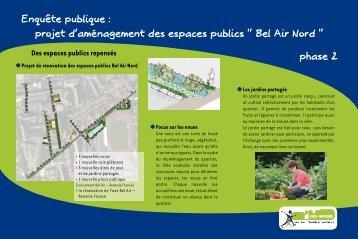 """projet d'aménagement des espaces publics """" Bel ... - Ville de Montreuil"""