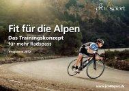 für mehr Radspass Fit für die Alpen - Saikos Velo