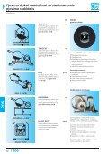 Pjovimo diskai naudojimui su stacionariomis pjovimo staklėmis - Page 2