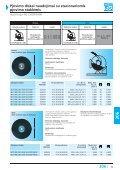 Pjovimo diskai naudojimui su stacionariomis pjovimo staklėmis - Page 3
