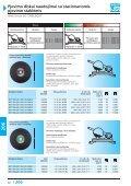 Pjovimo diskai naudojimui su stacionariomis pjovimo staklėmis - Page 4