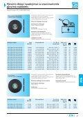 Pjovimo diskai naudojimui su stacionariomis pjovimo staklėmis - Page 7
