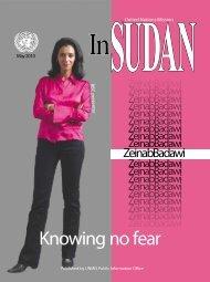 Knowing no fear - UNMIS