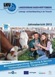 Ergebnisheft MLP 2012 - Landesverband Baden-Württemberg für ...