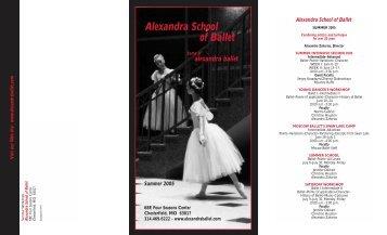 abschoolsmr05.qxt (Page 1) - Alexandra Ballet