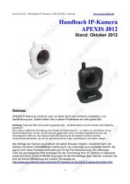 Handbuch Ip-Kamera APEXIS J012 Stand: Oktober 2012