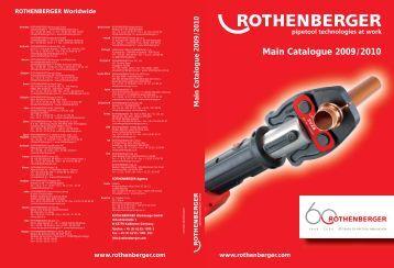 Rothenberger_Brochure - Plumb Center online