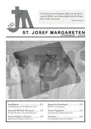 Pfarrer Obermayer - 5., Pfarre St. Josef